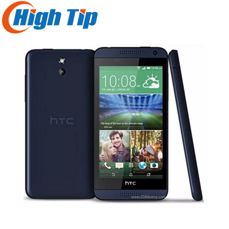 "Original HTC Desire 610 Qual Core Mobile phone 4.7""TouchScreen 1GB RAM 8GB ROM GPS Wifi Unlocked 3G 4G Android refurbished phone"