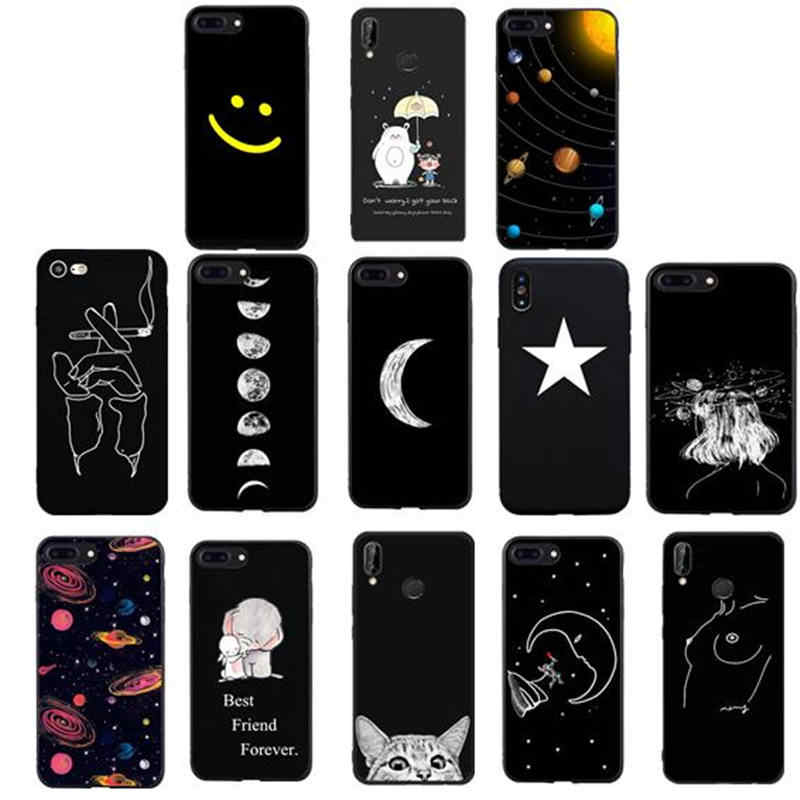 Cover for Huawei P20 P10 Pro Mate 10 case Cover For Capinhas Huawei p smart 2018 P20 mate P9 P10 lite P9 Lite mini Coque case