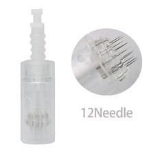 9/12/36 เข็มเปลี่ยนสำหรับ M5 DR. ปากกา dermapen เข็มตลับหมึก Micro เข็ม Derma Roller หัว 50 PCS