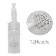 9/12/36 agulhas substituição cartucho para m5 dr. caneta dermapen agulha micro agulha derma rolo cabeça de substituição 50 pces