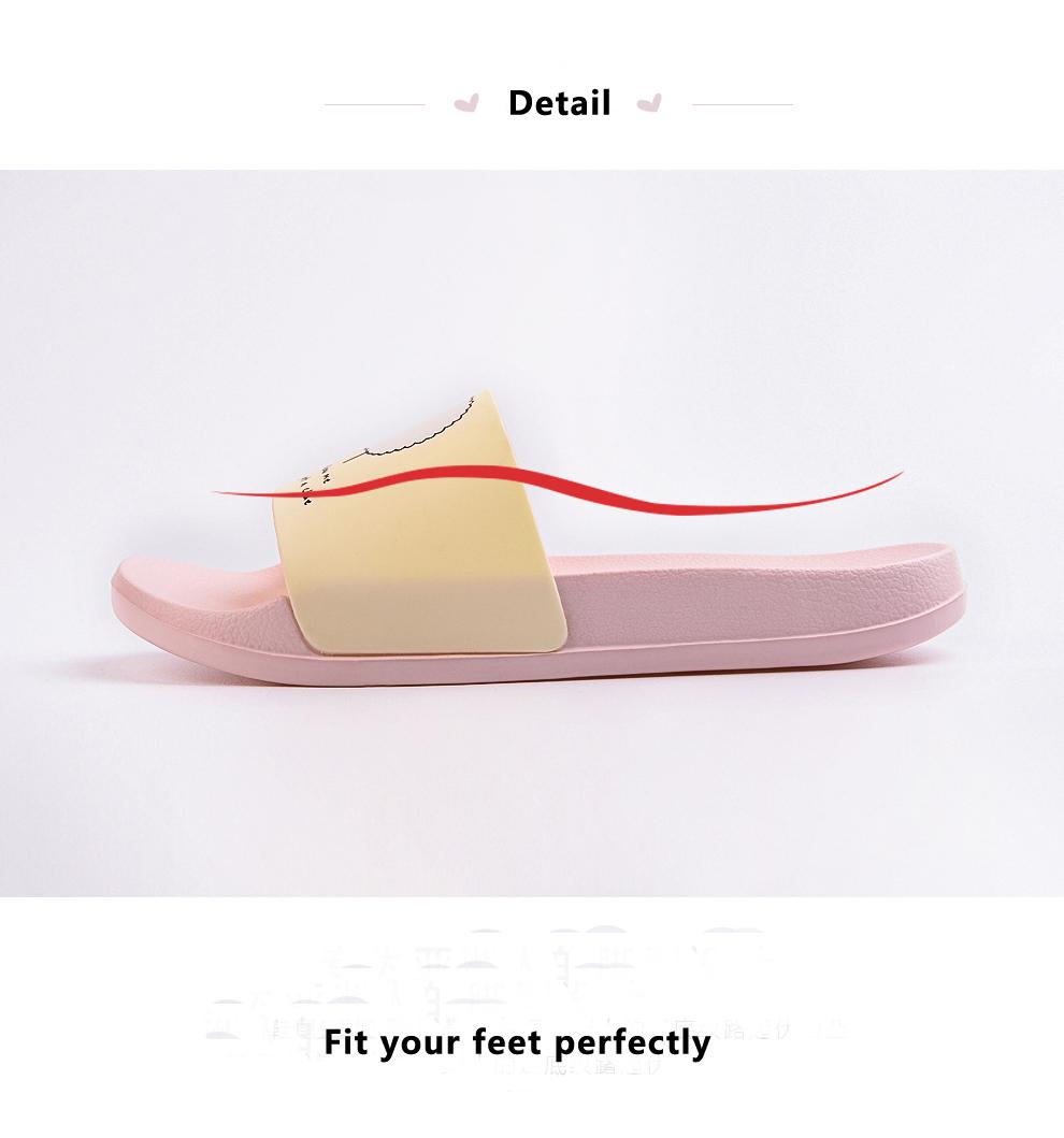 ASIFN Women Slippers EVA Men Slides Couple Cute Sheep Indoor Summer Loves Shoes Zapatos Mujer Flip Flops 28