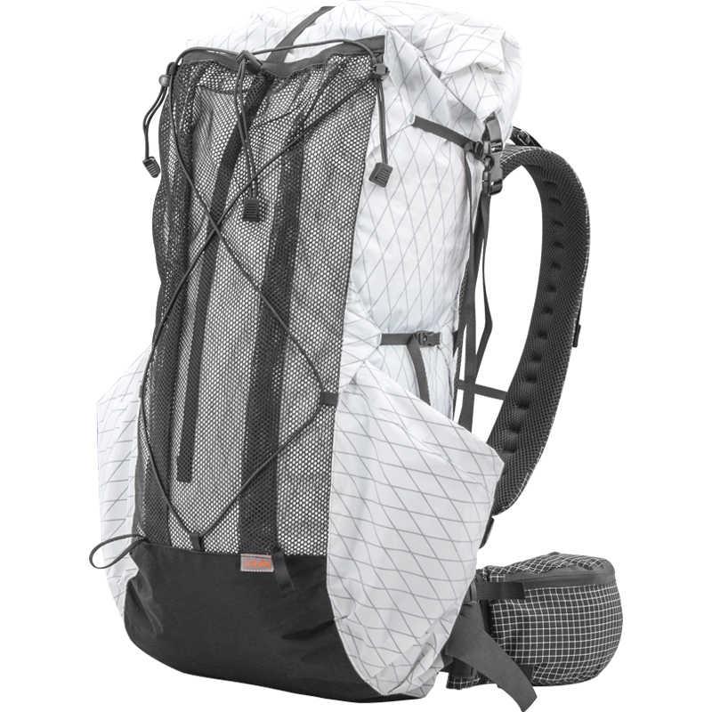 3F UL GEAR 35L-45L lekki, trwały plecak turystyczny na zewnątrz ultralekki pakiet bezramkowy torby XPAC i UHMWPE