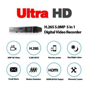 Image 4 - 5MP Ultra HD 16CH DVR H.265 + sistema de seguridad de la cámara CCTV 16 piezas 5MP Sistema de CCTV IR visión nocturna interior video de vigilancia Kit