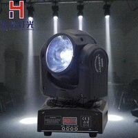 Мини 60 Вт Светодиодные пятно Moving головной свет/DJ контроллер свет 60 Вт луч светодиодные фары движущихся супер яркий LED DJ Disco свет