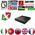 S905X X96 2G 16G Amlogic Quad Core Android 6.0 TV Box Wifi HDMI 2.0A 4 K * 2 K Kodi Malvavisco Media Player Set top box