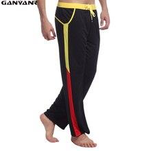 GANYANR Fitness Sport Leggings Men Running Pants Sportswear Gym Sweatpants Long Jogging Trousers Training Athletic quick dry