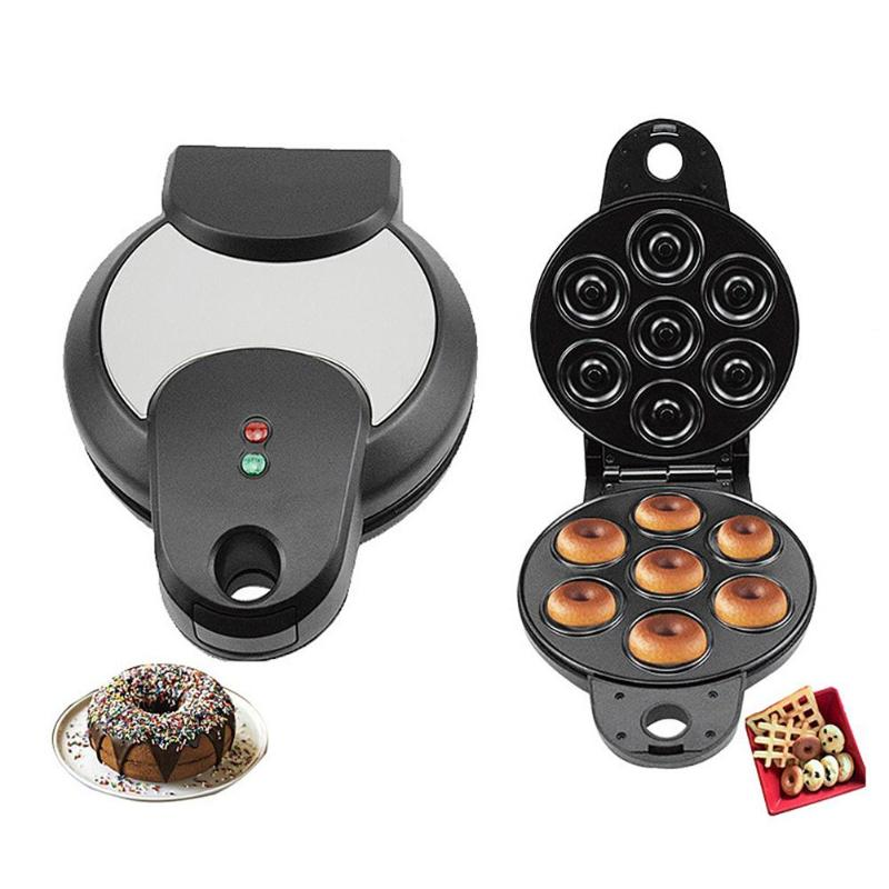 Two-side Heating Electric Automatic Donut Waffle Maker Egg Cake maker household breafast machine 12psc lot egg waffle maker household type cake machine kitchen cooking donut maker free shipping by dhl