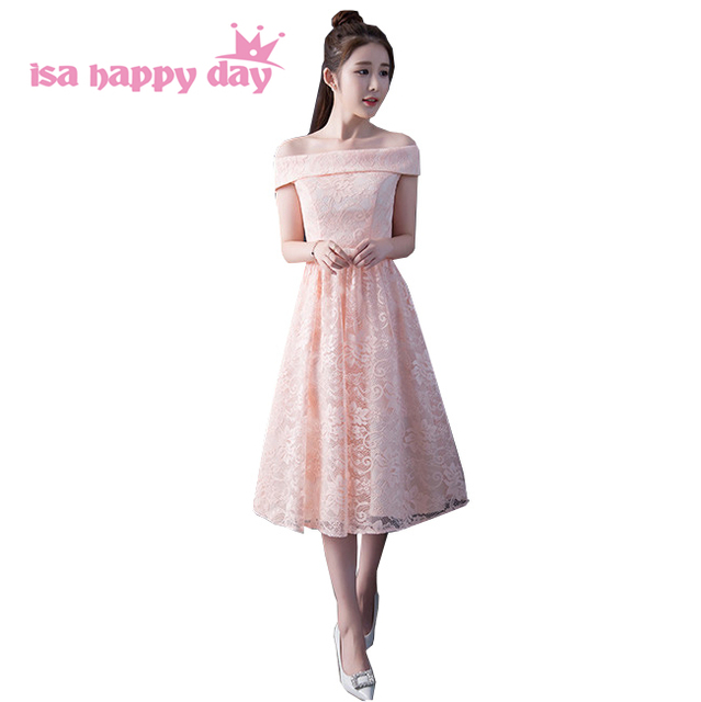 8c1118c05 off the shoulder 2019 cheap short pink lace dresses homecoming party dresses  teen dress sweet 16 ball gown under 50 H4190