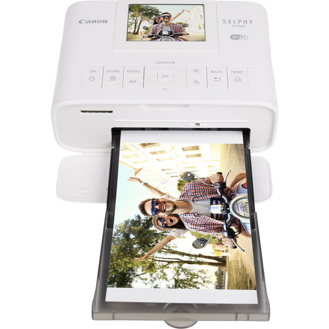 Canon SELPHY CP1300 Wireless Compact home mini Photo Printer with KL-36IP 5INS photo paper