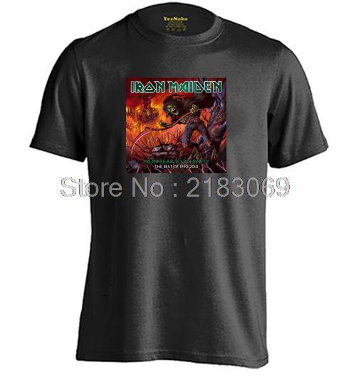 Iron Maiden <font><b>From</b></font> <font><b>Fear</b></font> <font><b>To</b></font> <font><b>Eternity</b></font> Death Mens & Womens Personalized T Shirt Custom T Shirt