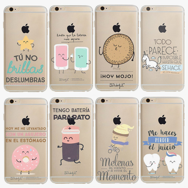 51397932671 Mr Wonderful Fundas For Iphone 7 Plus Case Luxury Silicon Soft Tpu Phone  Cover Series Cartoon Cases For Iphone 6 6s Plus Shell