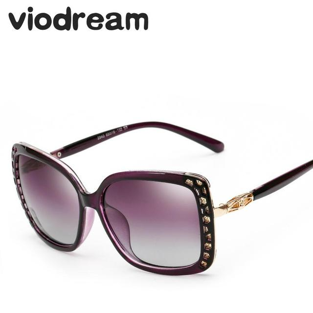 e6b784c0223 Viodream New Retro Shield Plastic Frame Adult Polaroid Sunglasses Female  Polarized Sun glasses oculos de sol