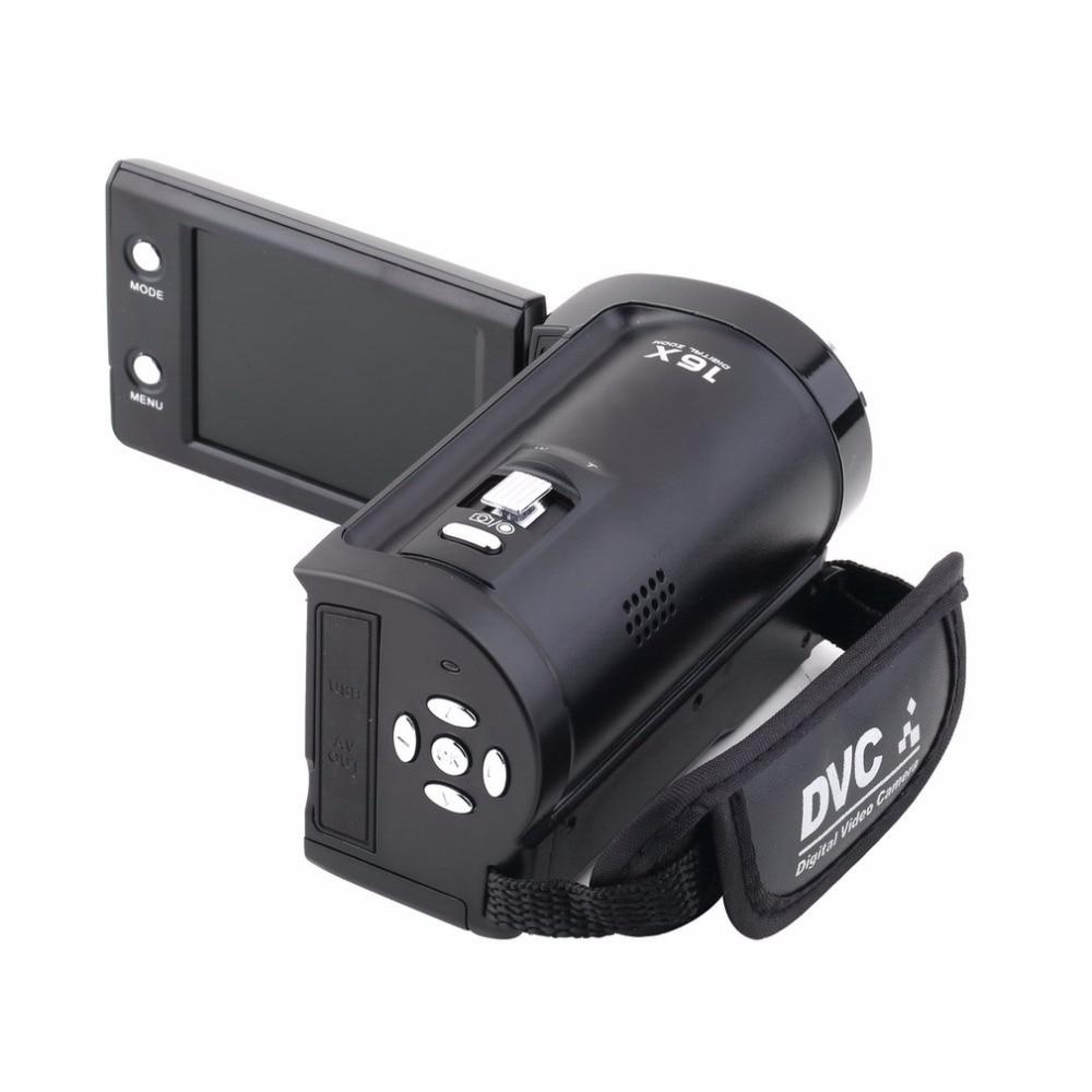 HD 720 P 16MP Цифровая Видеокамера DV DVR 2.7 дюймов TFT LCD 16x ZOOM CMOS ВЕЛИКОБРИТАНИЯ Plug