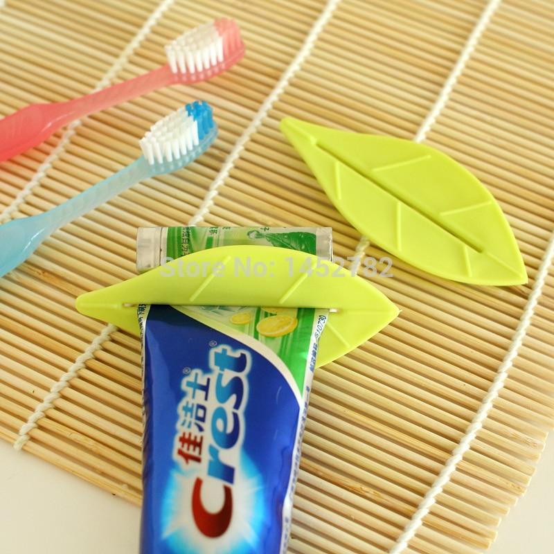 2PCS / SET Ustvarjalni dom Opremljanje listov zobne paste razpršilnik zobne paste