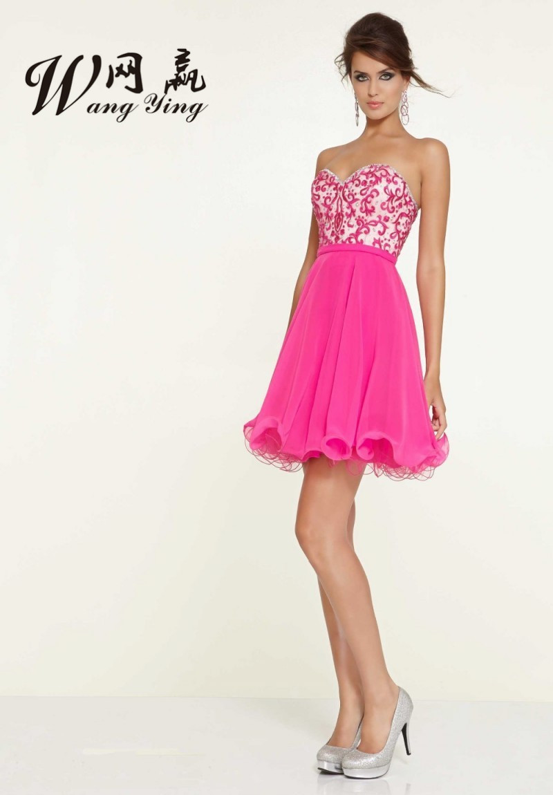 Compare Prices on Hot Pink Cocktail Dress- Online Shopping/Buy Low ...