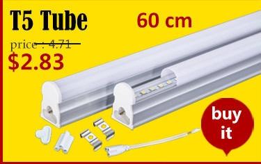 TUBO a LED T5 Lampada Luce integrato 5 W 9 W 600 300 mm 2/' 1/' BIANCO FREDDO BIANCO CALDO