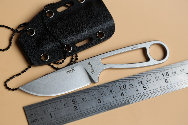 JUFULE OEM Ant IZULA Rowen 12992 Fixed Blade Tactical D2 Blade KYDEX Camp Hunting Survival fruit <font><b>Knife</b></font> kitchen Outdoors EDC Tool image