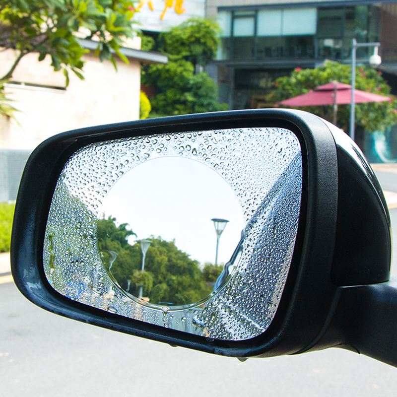 Car Anti Fog Rainproof Rearview Mirror Protective Film For Ford Focus 2 1 Fiesta Mondeo 3 Transit Fusion Ranger <font><b>Mustang</b></font> KA S-max image