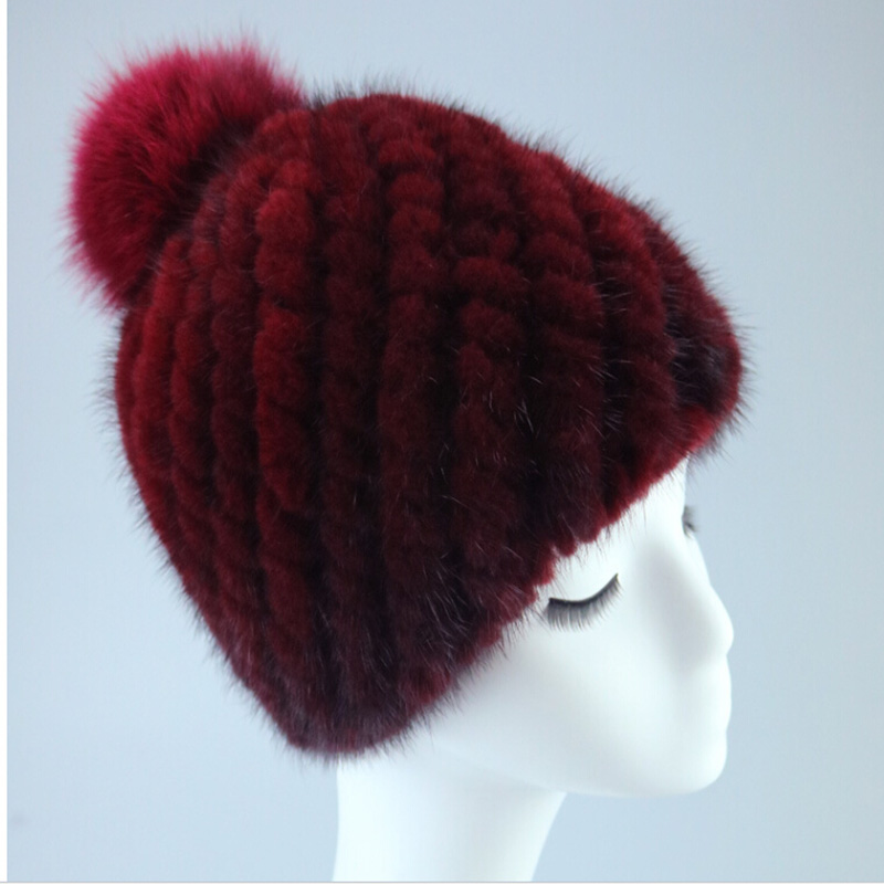 knitted fur cap russian winter women hat natural rex rabbit fur hats For Women Beanie Gorros Hat Hip Hop Skullies Cap woman warm letters fukk knitted hats winter hip hop beanie hat cap chapeu gorros de lana touca casquette cappelli bonnets rx112