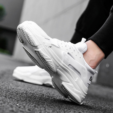 SUROM mesh Sneakers Men shoes casual Red Breathable Comfortable summer Outdoor Walking Shoes Male white Lace up Men Sneakers