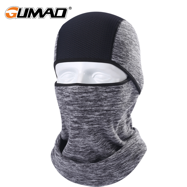 Winter Warm Fleece Balaclava Full Face Mask Thermal Cycling Hood Liner Sports Ski Bike Hiking Tactical Snowboard Face Shield Hat