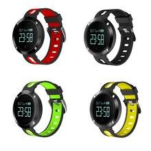 Сердечного Ритма Артериального Давления DM58 Смарт Полосы IP68 Водонепроницаемый Браслет Фитнес-Трекер Спортивные Часы Smartband для IOS Android Phone