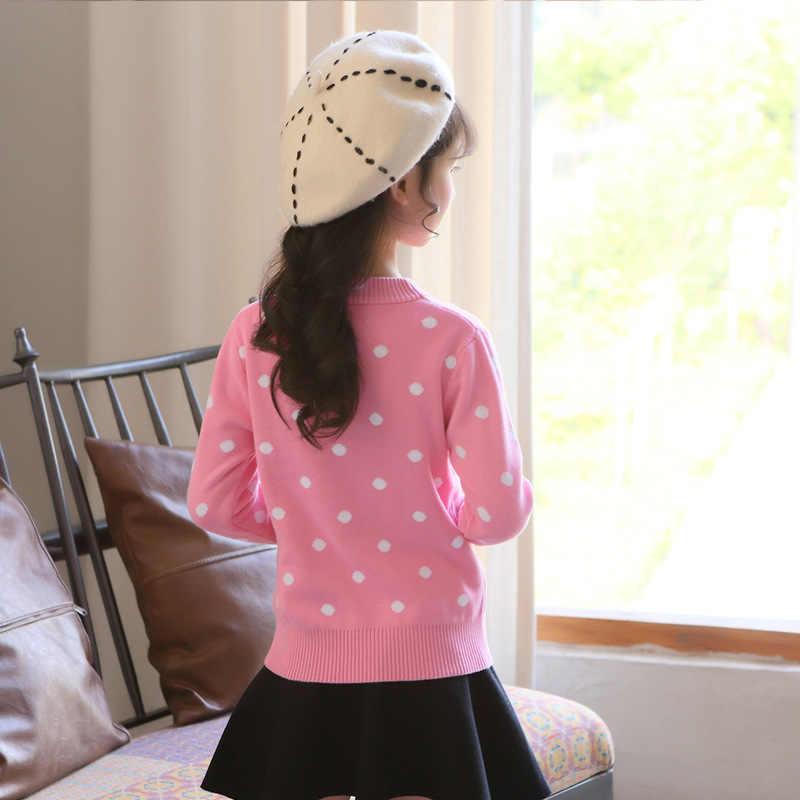 2018 Baby Trui Voor Meisjes Kleding Vest Herfst Gebreide Peuter Meisjes Trui Pullover Winter Tops 10 12 14 Jaar Pull fille