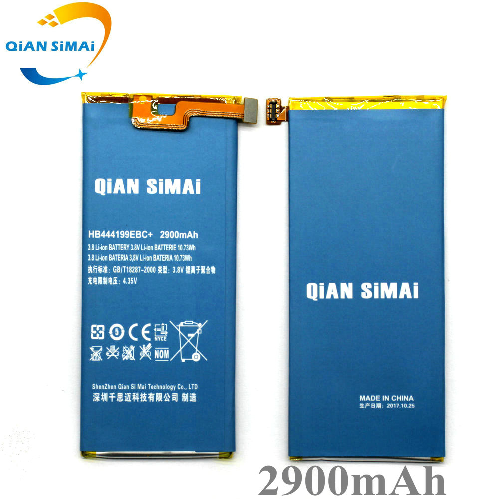 QiAN SiMAi 2017 New HB444199EBC+ 2900mAh phone Battery Replacement for Huawei Honor 4C C8818 Phone
