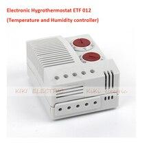 Электронный Hygrothermostat ETF 012 Температура и Влажность Контроллер Работы для Промышленного Электрического Шкафа Din-рейку