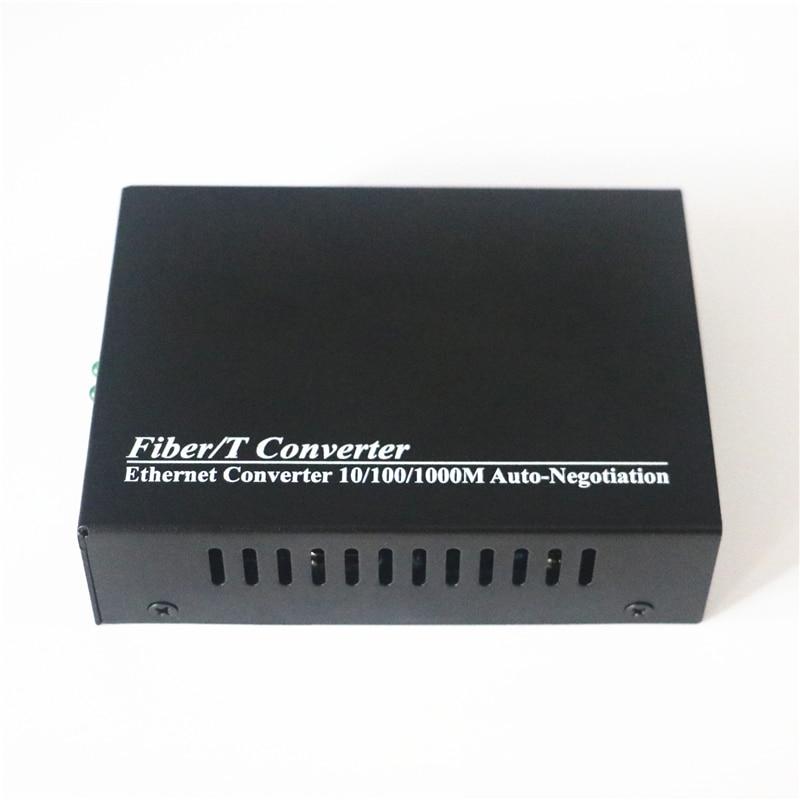 Image 5 - New 1000Mbps Single mode Duplex Fiber Optical Transceiver Converter Wavelength 1310nm SC to RJ45 Gigabit Fiber Media Converter-in Fiber Optic Equipments from Cellphones & Telecommunications