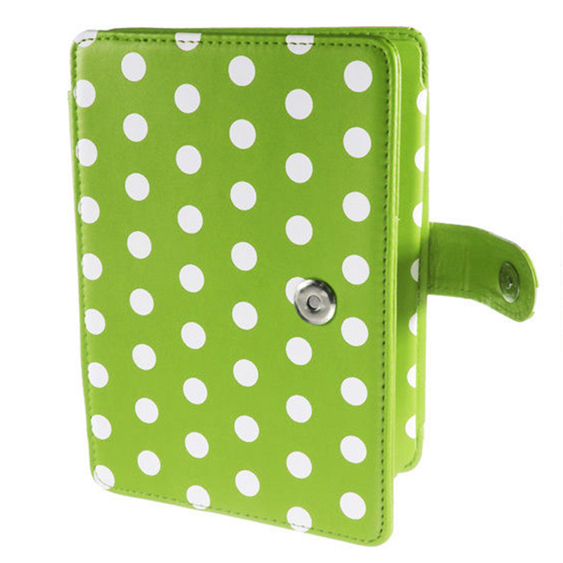 все цены на 2 Packs Magnetic PU Leather Cover Case Slim for Amazon Kindle Paperwhite (Round Dot, Green) онлайн