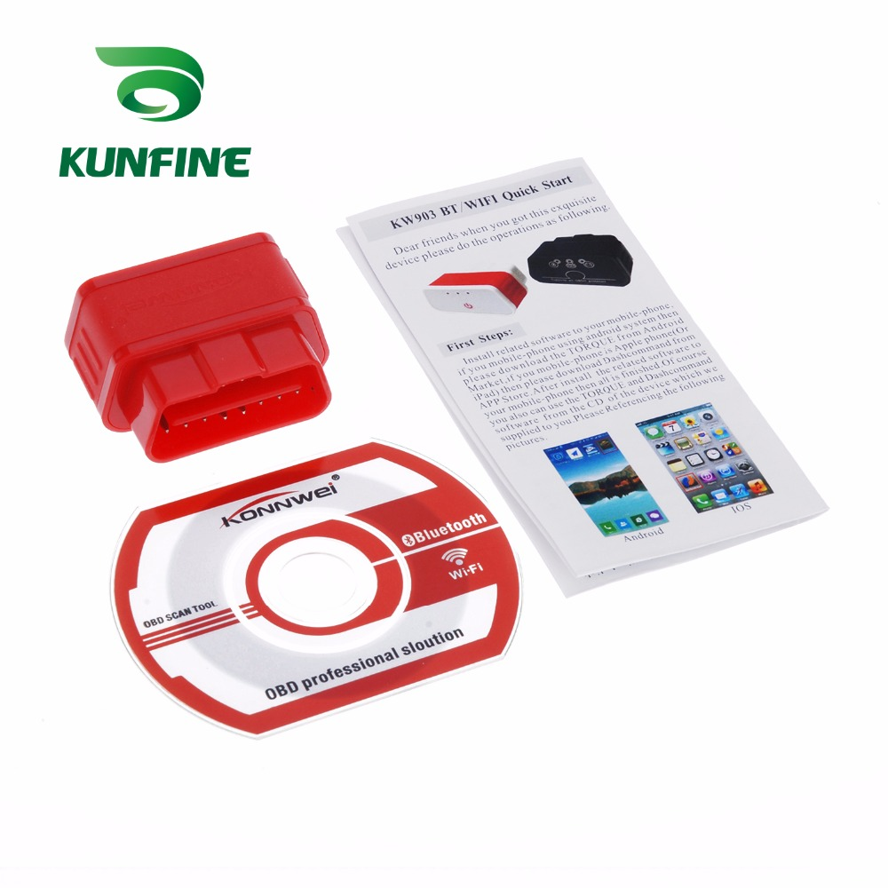 Auto Diagnostic Tool Car engine code Scanner Vehicle fault reader KF-A1189_8227