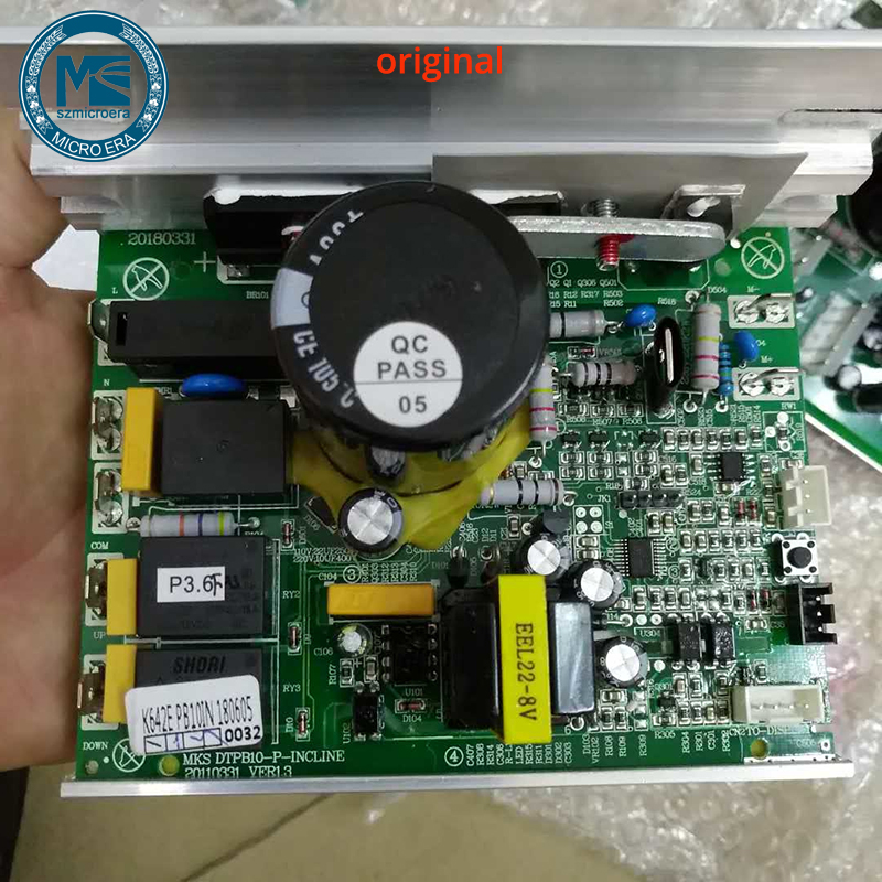 Treadmill controller circuit card JF200 MKS DTPB10 P INCLINE 3pin for universal treadmill motor speed control