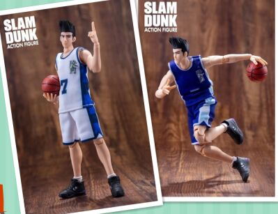 GREAT TOYS Dasin Ryonan AKIRA SENDOH pvc action figure SLAM DUNK GT model toy brinquedos