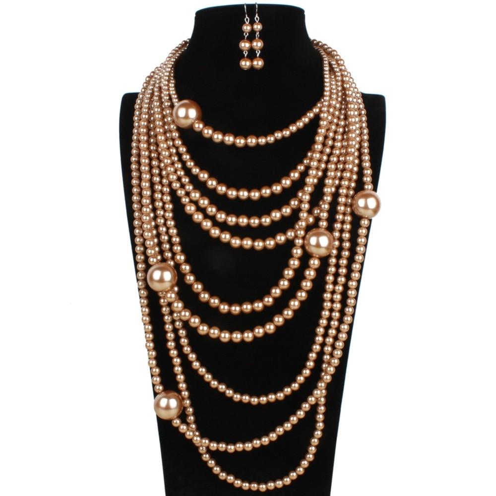 Aliexpress.com : Buy Multilayer Jewelry Set Classic ...