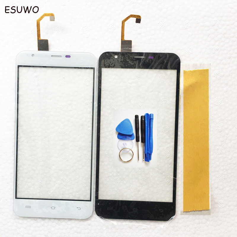ESUWO Touch Screen Sensor For Oukitel U7 Plus Touchscreen Panel Front Glass Digitizer Replacement