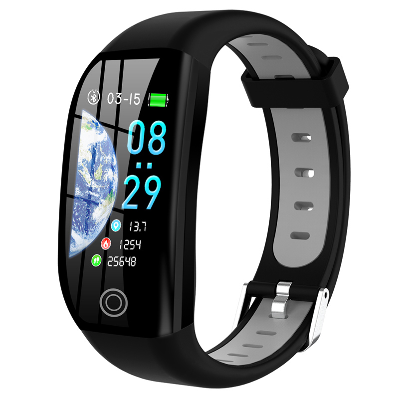F21 Smart Wristband Fitness Bracelet Heart Rate Monitor Activity Tracker Health Pedometer Smartband Men Women For Android IOS