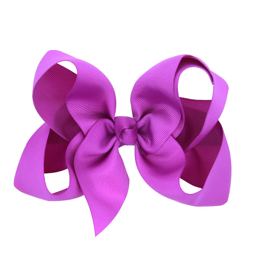 cfaf2dac1a6c Naturalwell 6 inch Hair bows for girls Children girls hair clip Large hair  bow baby bow girl hair accessories 16colors BB010D-in Hair Accessories from  ...