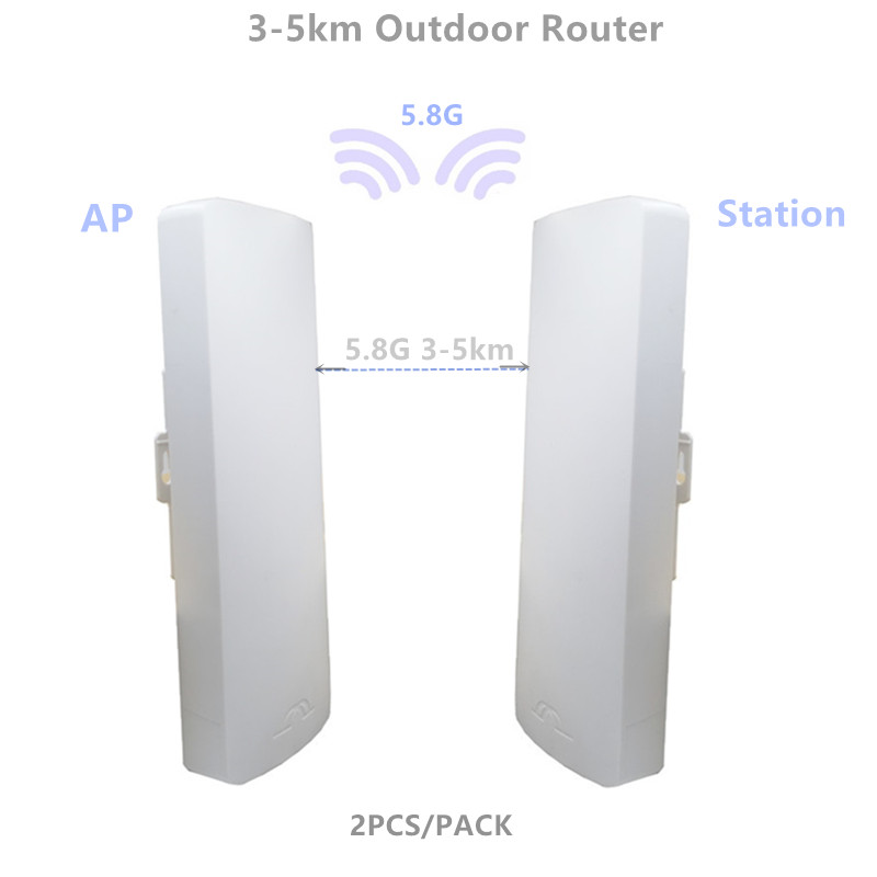 9344 9331 254 3-5km Chipset WIFI Router WIFI Repeater CPE Long Range 300Mbps5.8G Outdoor AP Bridge Client Router Repeater
