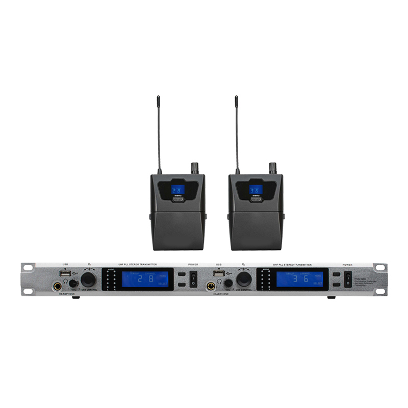 In Ear Monitor Wireless System PSM1000 Double transmitter Monitoring Professional for Stage Performance smsl m8 dsd dac optical coaxial xmos usb asynchronous es9018k2m 24bit 384khz digital decoder aluminum enclosure new version