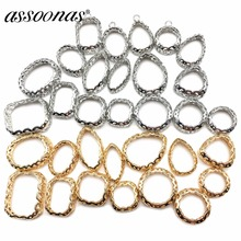 assoonas M197 jewelry accessories jewelry findings accessory parts diy copper accessories charm hand made jewelry making cheap Metal