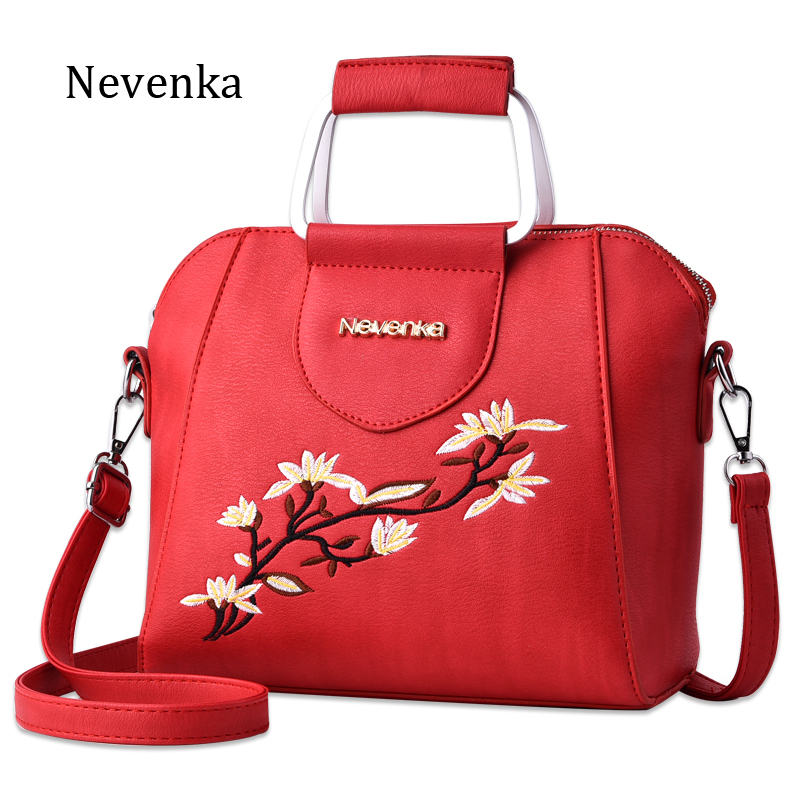 Nevenka Women Bag Shoulder Bag PU Leather Bags Top-handle Evening Bags Clutch Female Flap Handbag Famous Brand Mini Sac Tote retro leather women messenger bags small female shoulder bags luxury top handle bag leisure mini leather bolsos flap stb002
