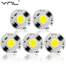 5pcs COB LED Lamp Chip 220V 3W 5W 7W 10W 12W Y27 Lampada LED Lamp Bulb IP65 Input Smart IC For DIY LED Flood Light Spotlight