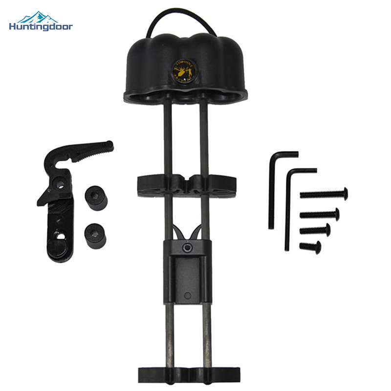 Quality Archery Arrows Quiver Fully Adjustable Quivers Arrow Archery for Hunting Compound Bow Arrow Quivers Shooting Black dmar archery quiver recurve bow bag arrow holder black high class portable hunting achery accessories