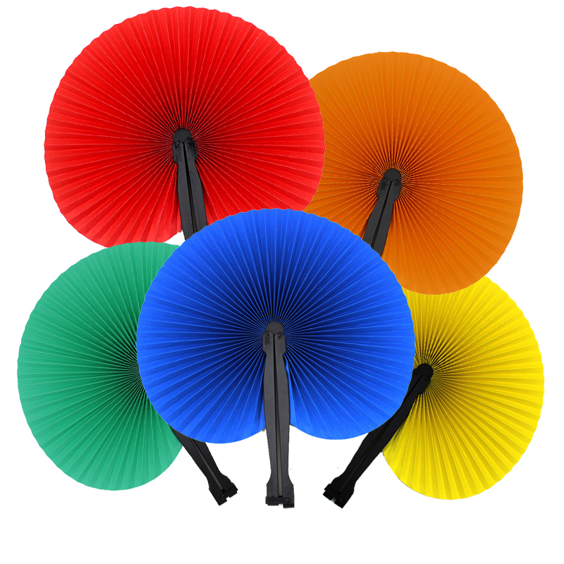 1pcs New Hioliday Sale Event Party Supplies Paper Hand Fan Wedding Decoration Party Wedding Home Decorations