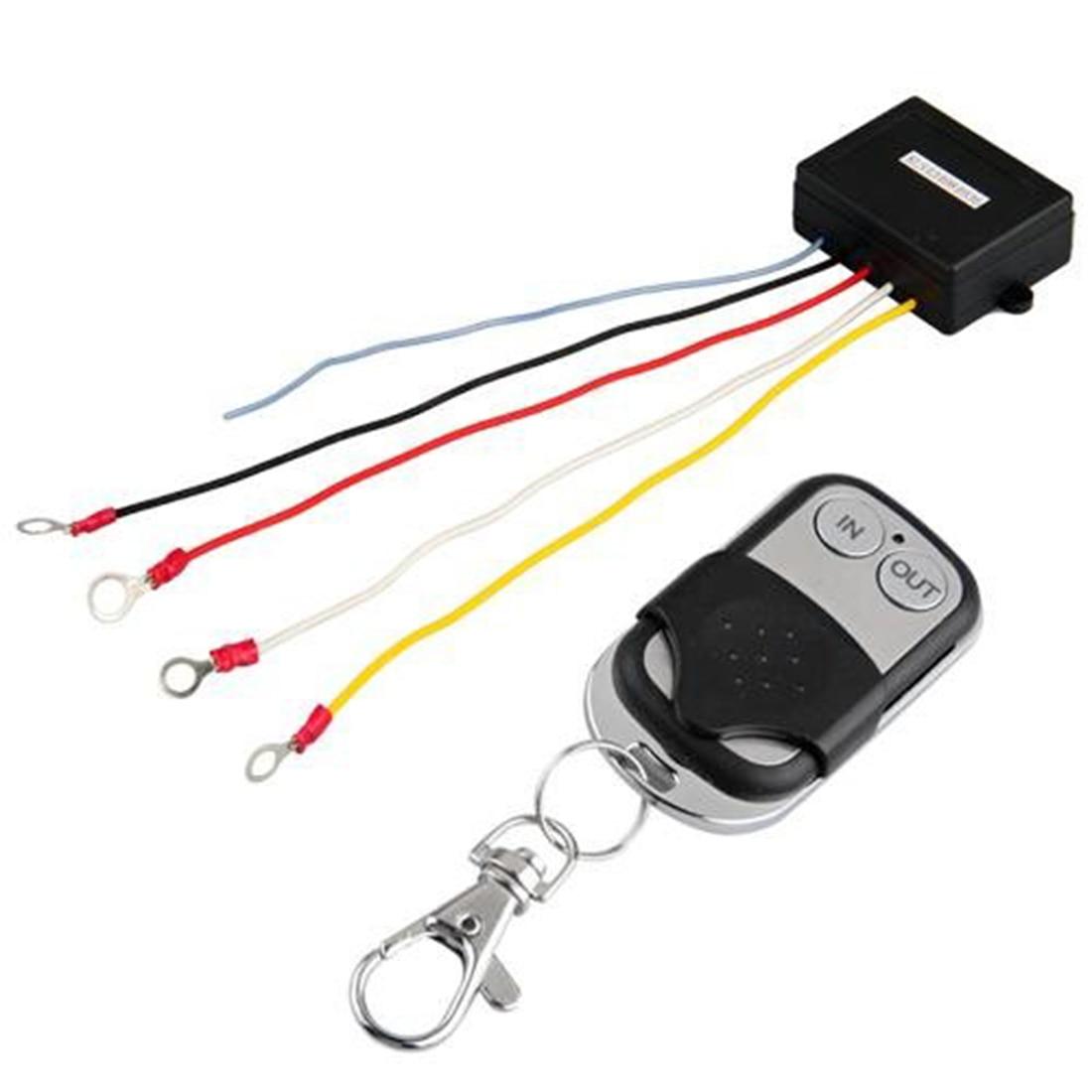 medium resolution of marsnaska wireless remote control kit for truck jeep atv winch wireless remote control 15m 12 volt
