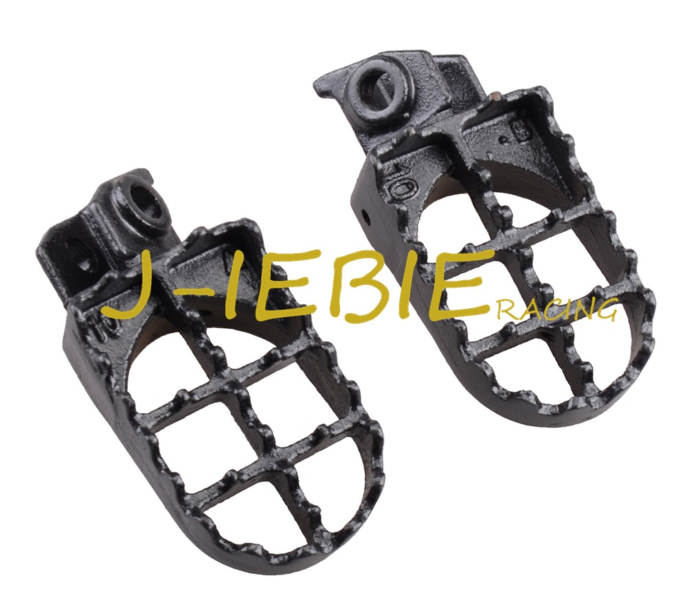New Wide Footpeg Foot Pegs Pedals Rests For KTM 50 65 125 250 300 360 400 525SX 520SX EX-C M XC SXR ADVENTURE