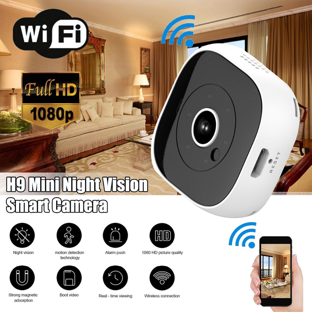 Camsoy Mini Camera HD 1080P Wifi Surveillance Wireless IP Cam Motion Detection Micro Security Camcorder Infrared Night Vision DV|Mini Camcorders| |  - title=