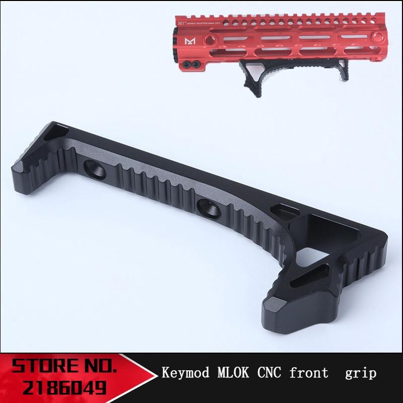 Tactical inming8 tactical grip triangle hand block MINSR fishbone refitting upgrade accessories Keymod MLOK CNC front grScope Mounts & Accessories   -