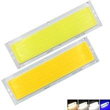 20 Вт светодиодный чип с бусинами, DC 12 В 14 в, COB полоса, светодиодный светильник, источник освещения, синий, теплый/холодный/натуральный белый, для DIY, светодиодный прожектор, Декор